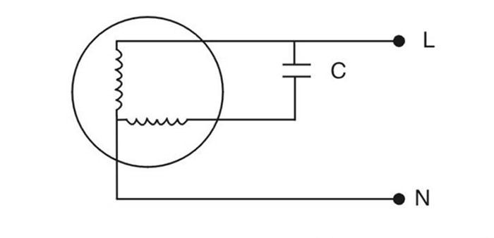 CBB60电容器典型应用电路图