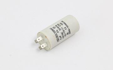 电机运行电容器的温度检测方法