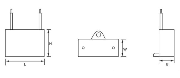 油烟机电容器外形结构图
